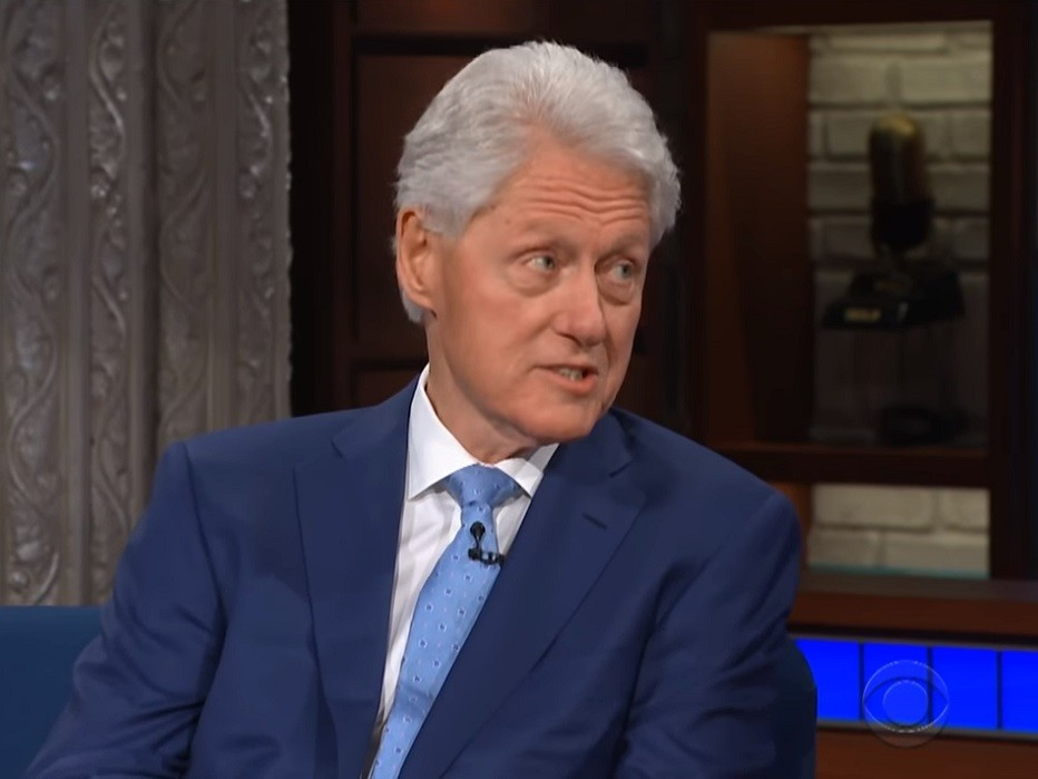 Bill Clinton to Colbert on Lewinsky Remarks: 'I Was Mad at Me'