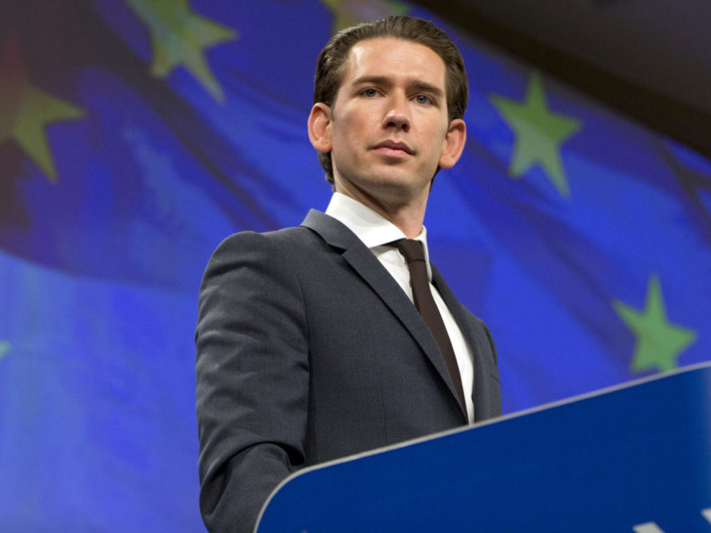 Austria's Chancellor Kurz Calls on EU to Cut Executive Branch, Make Efficiency Savings