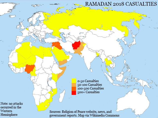 Ramadan Rage 2018: Islamic State Defeat Brings Holy Month Deaths Down 45 Percent