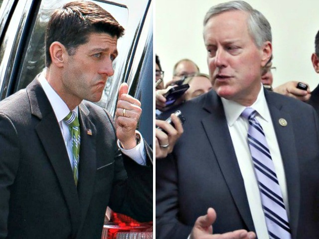 Mark Meadows Throws Down on Paul Ryan in Heated Immigration House Floor Exchange: 'I'm Done'