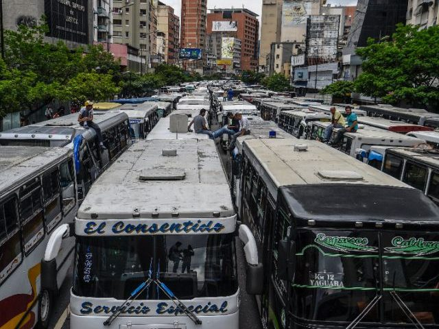 Report: 90 Percent of Venezuela's Ground Transportation Doesn't Work