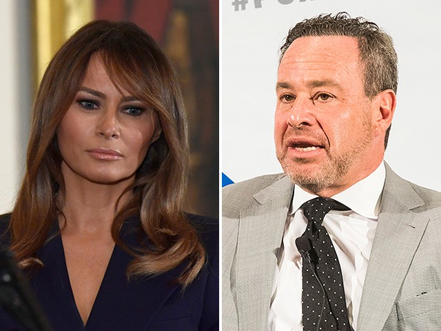 Exclusive – Melania Trump Spox: David Frum 'Disgusting' for Insinuating Domestic Abuse in White House