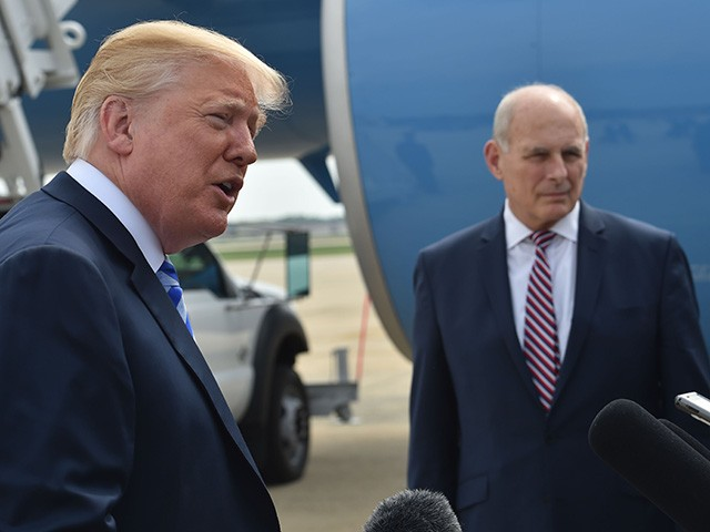 Report: John Kelly Did Not Follow President Trump's Orders to Promote Rudy Giuliani's Son