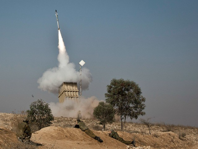 Dozens of Gaza Terror Rockets Target Southern Israel, IDF Responds