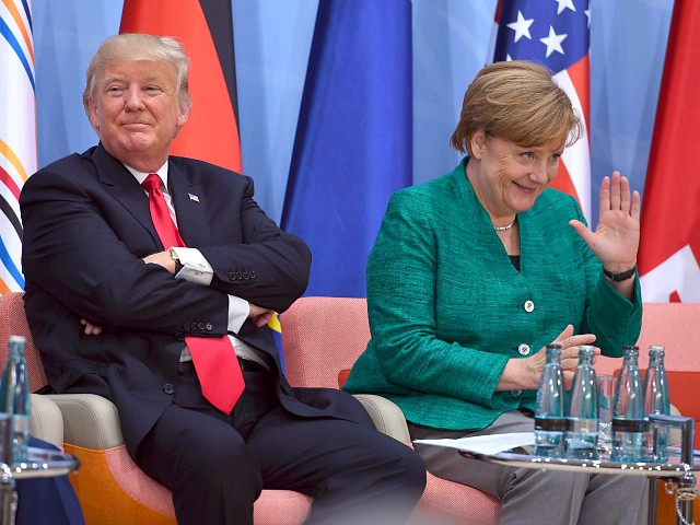 Trump Reportedly Tossed Candy to Merkel at G-7: 'Don't Say I Never Give You Anything'