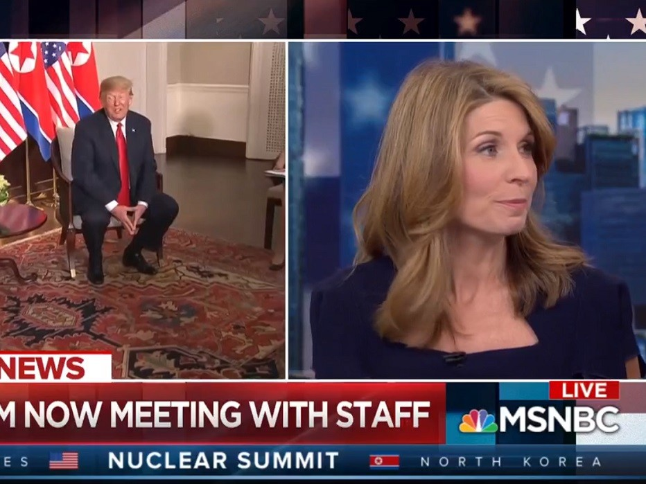 Nicolle Wallace Rips Donald Trump-Kim Jong Un In-Person Meeting: Both Men Are 'Established Liars'