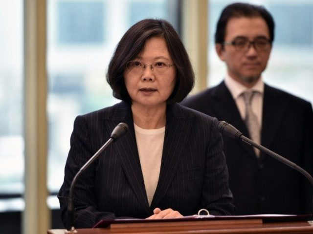 Taiwan's President Asks World: 'Constrain China'