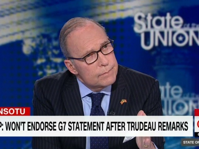 Kudlow on Trudeau at G7: 'It Was a Betrayal,' 'He Really Kind of Stabbed Us in the Back'