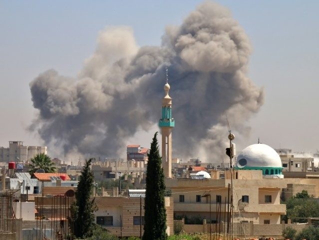 Syria: Russian-Backed Assad Bombings Force 50,000 to Flee