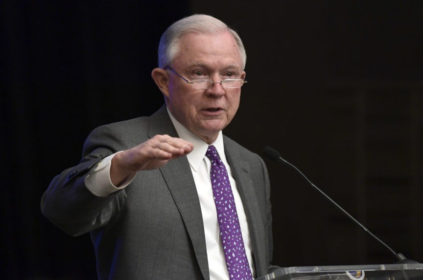 AG Sessions Defends Policy of Separating Illegal Immigrant Parents, Children