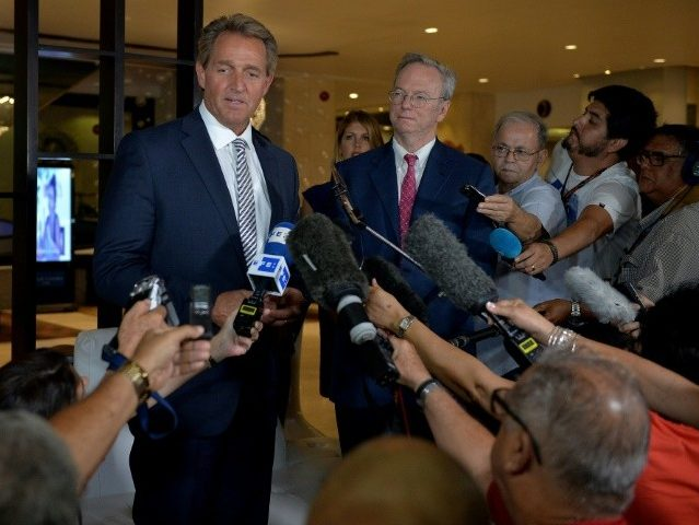 Jeff Flake Lends Support to Cuba's Puppet President