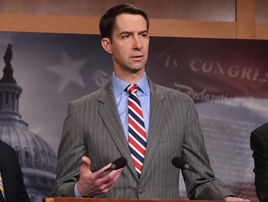 Tom Cotton: Democrats' Legislative Fix Is 'Child Trafficking Encouragement Act'