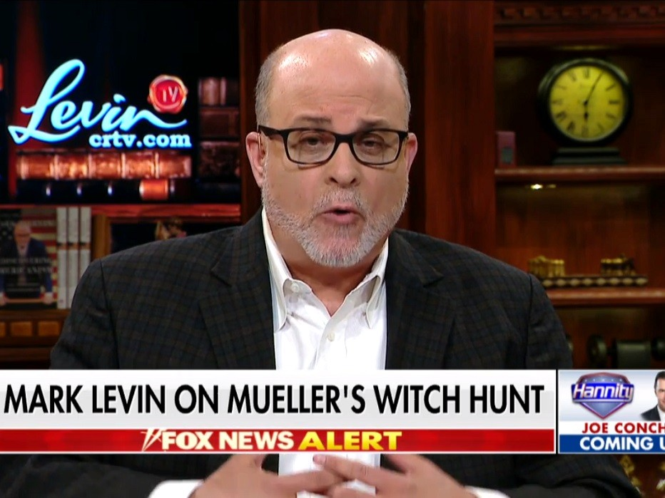 Mark Levin: 'Perhaps Mr. Mueller Is the Tyrant --- Not the President of the United States'