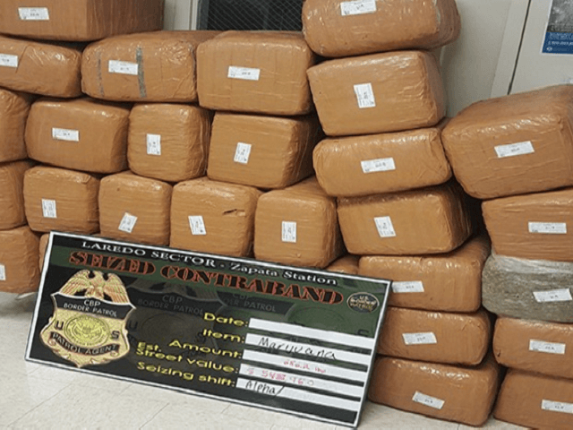 Border Patrol Agents Seize Half-Ton of Marijuana in Texas