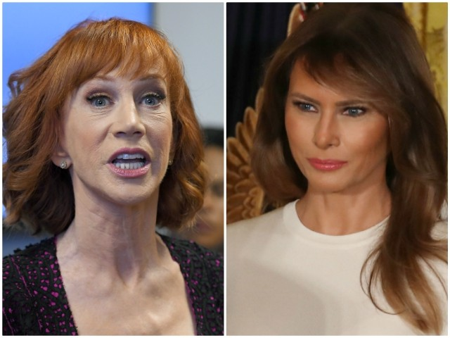 Kathy Griffin Attacks Melania Trump: 'Feckless Complicit Piece of Sh*t'