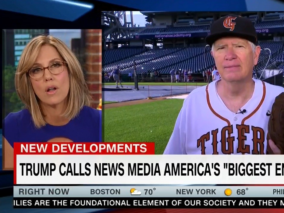 Watch: CNN's Camerota Badgers Rep Mo Brooks on Year-Anniversary of Baseball Shooting Over Trump Media Criticism