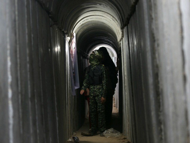 WATCH: Islamic Jihad Gives CNN a Tour of Gaza Terror Tunnel, Missile Site