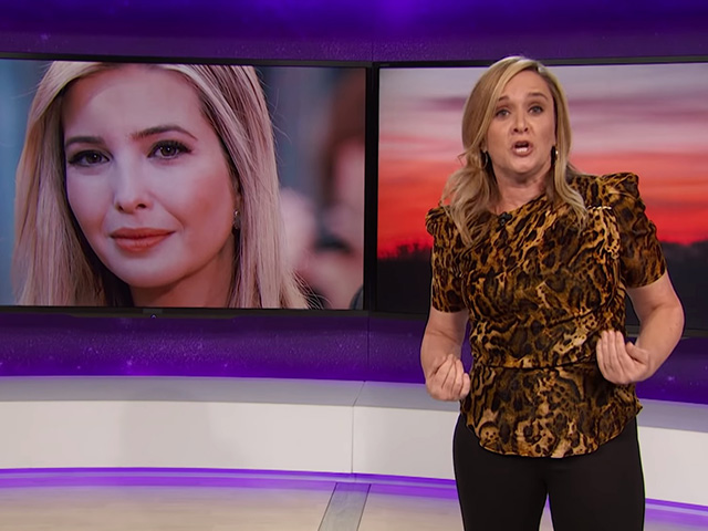 Samantha Bee to Ivanka: 'Do Something About Your Dad's Immigration Practices, You Feckless C*nt'