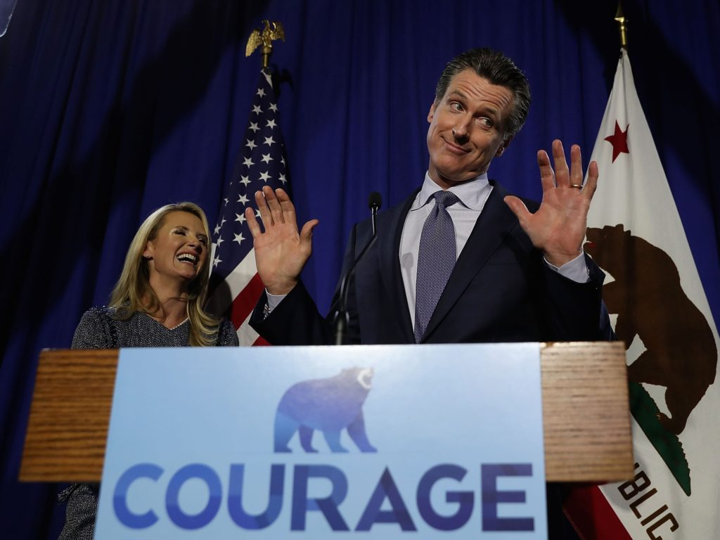 California Primary: Democrat Gavin Newsom First in Race for Governor