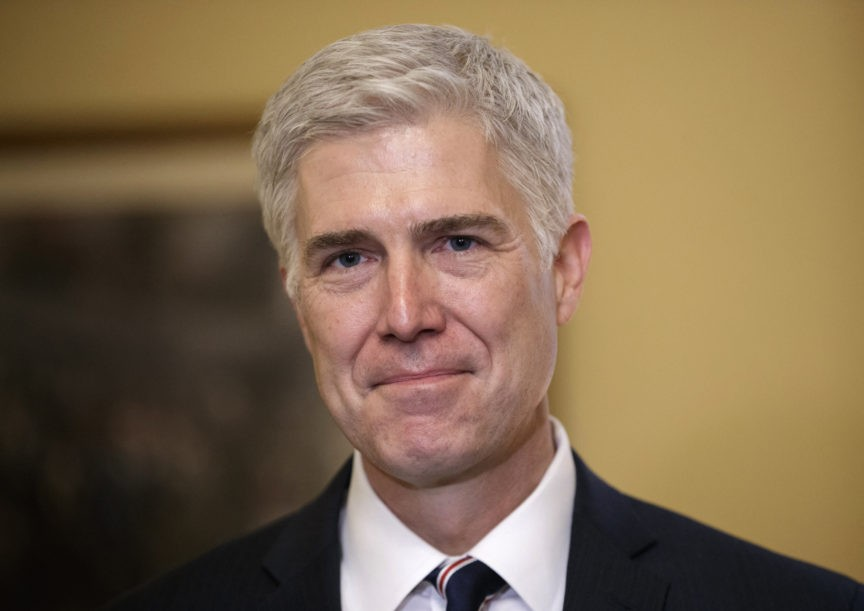 Google Briefly Lists Neil Gorsuch as 'World Renowned Lib Owner'