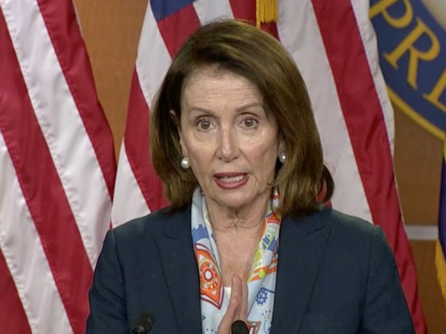 Pelosi Slams Trump and GOP: Americans 'Need a Bigger Paycheck'