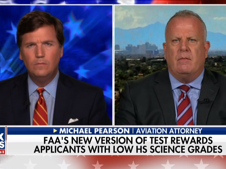 Aviation Attorney to Tucker Carlson: FAA Is Putting Diversity Ahead of Safety