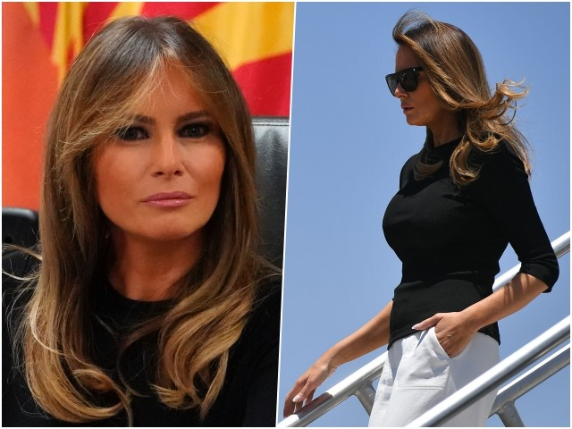 Fashion Notes: Melania Trump Goes Sporty Chic for Second Border Trip