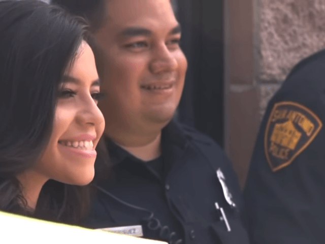 Texas Cops Escort Daughter of Fallen Officer to Graduation