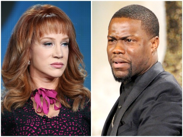 Kathy Griffin Slams Kevin Hart for Not Trashing Trump: 'That's a Pu**y Move Because He's a Black Man'