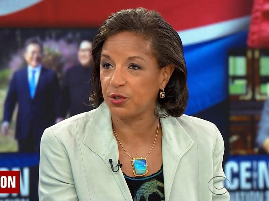 Susan Rice Rips Trump for Jab at Obama on Russia, Crimea -- 'Disgraceful,' 'Outrageous'
