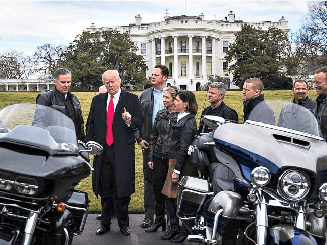 Harley-Davidson Workers Praise Trump's Tariffs: 'He's Just Trying to Save American Industry'