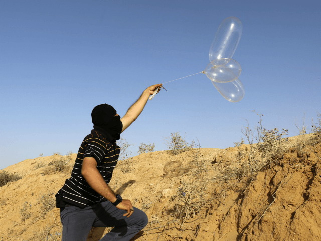 Hamas Claims It's Clamping Down on Gaza Terror Balloons
