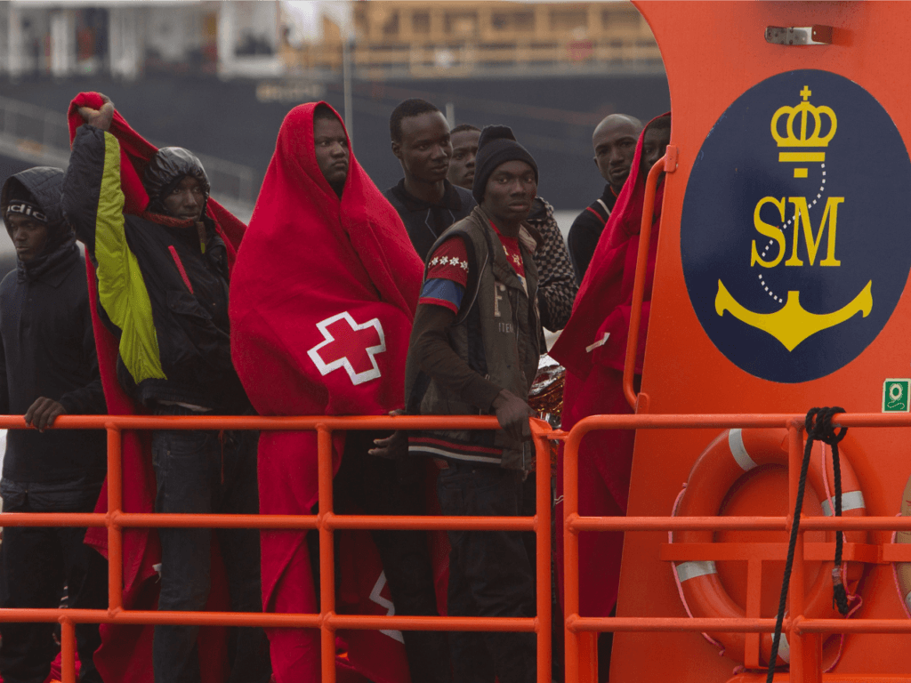 Migrants Reaching Spain by Sea Up 120 Percent