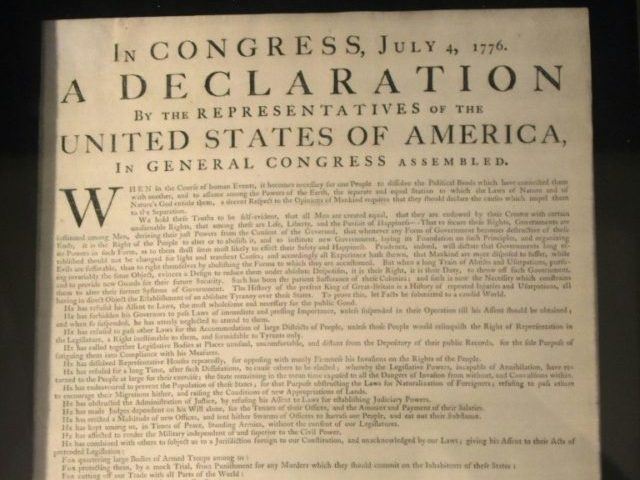 Facebook Removes Declaration of Independence Excerpt for 'Hate Speech'