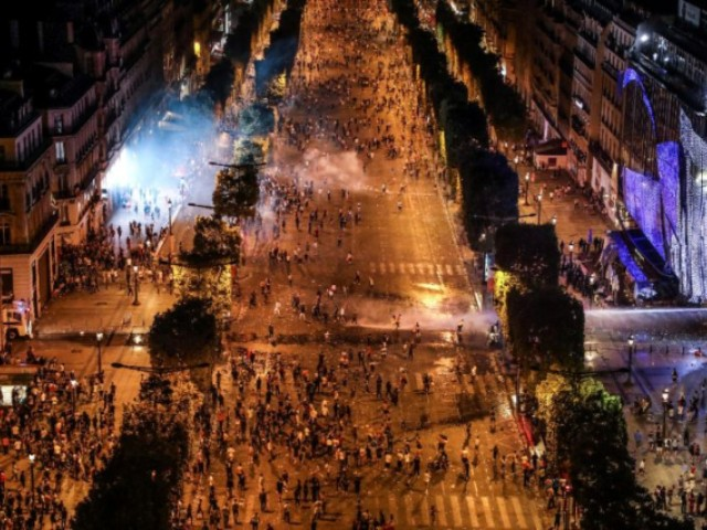 Riots, Road Accidents Mar French World Cup Partying