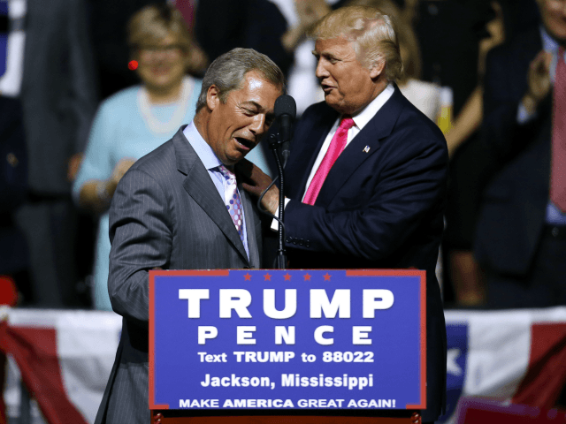 Farage: Trump Truths 'Have Hit Establishment Like a Bombshell'