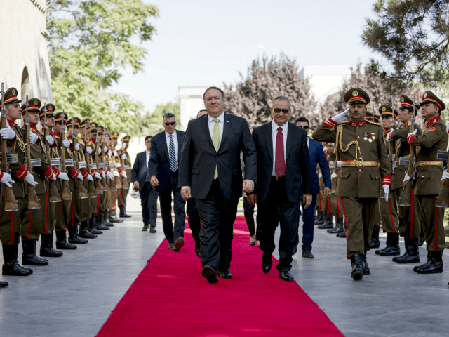 Pompeo Makes Surprise Visit to Afghanistan
