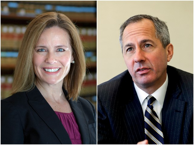 Amy Barrett and Thomas Hardiman Rising as Trump Readies Supreme Court Pick – Maybe