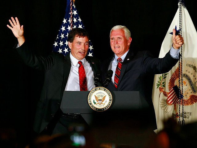 Mike Pence Ties Troy Balderson's Opponent to Nancy Pelosi in Ohio