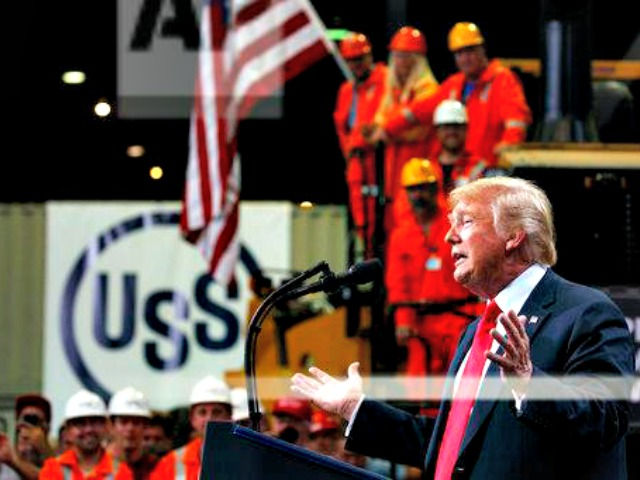 Donald Trump Celebrates American Steelworkers in Illinois