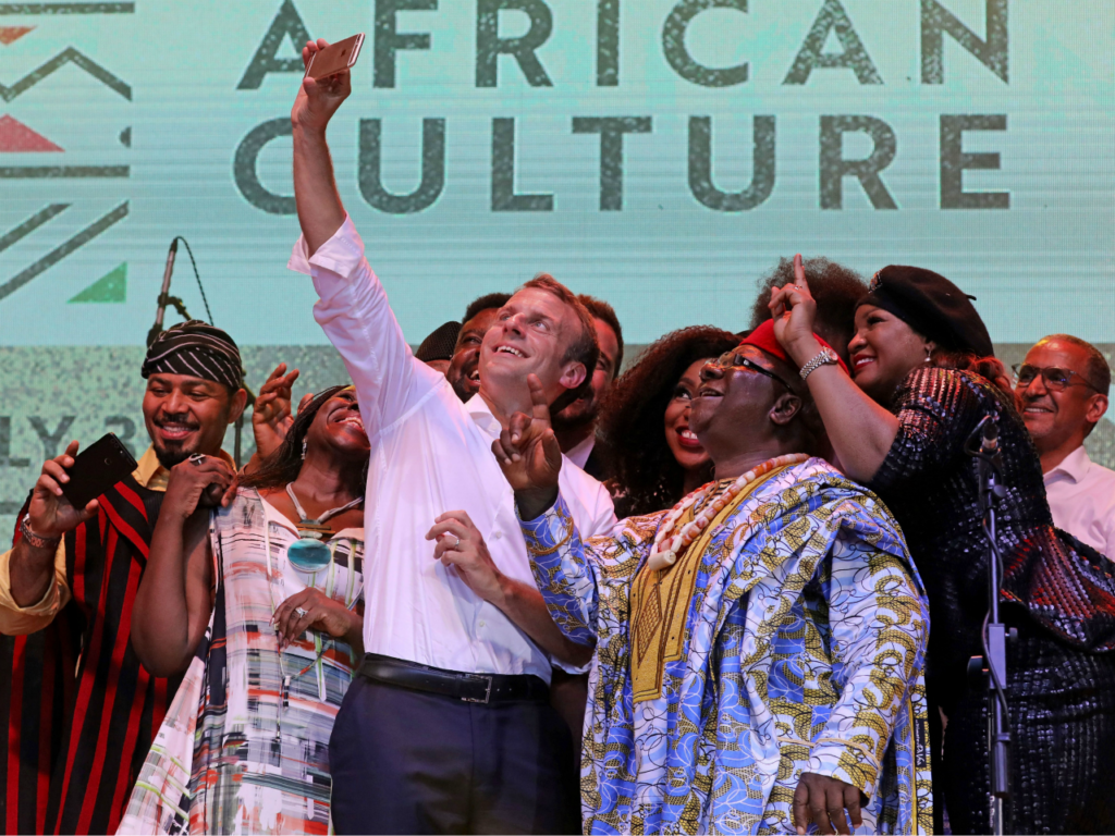 VIDEO: France's Macron Tells Africans to Stay and 'Succeed' in Africa, Reduce Birth Rate