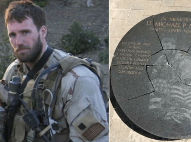 Long Island Teen Arrested for Allegedly Smashing Fallen Navy SEAL's Memorial