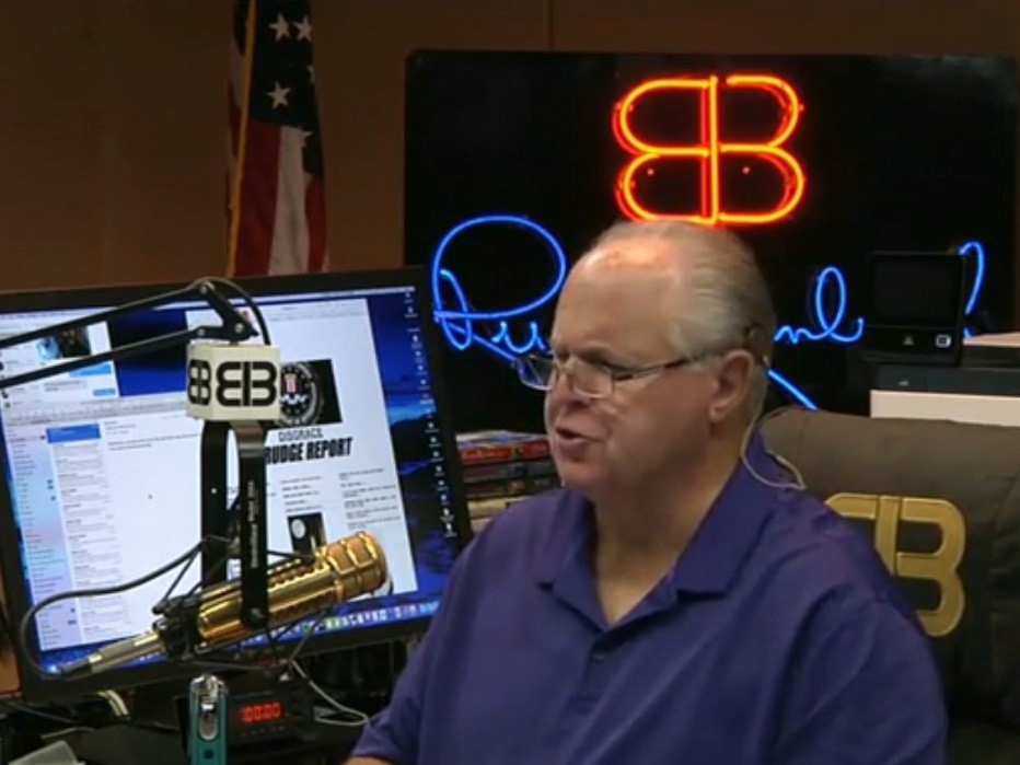 Limbaugh Hammers Never Trumpers --- 'Has There Ever Been a Group of People More Wrong About Their Own Party?'