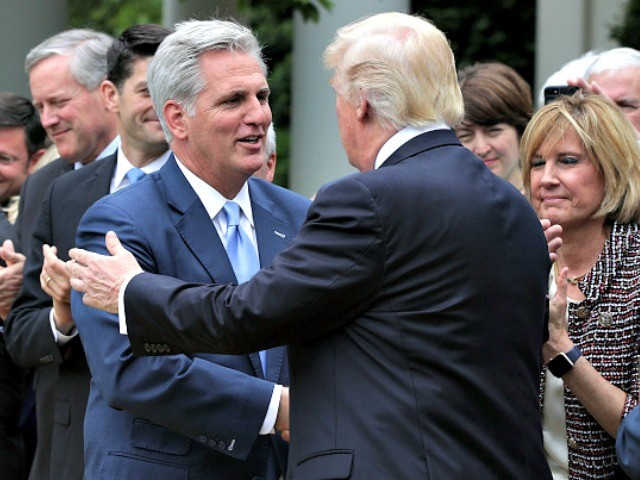 Majority Leader Kevin McCarthy Throws in with MAGA Candidates to Preserve GOP Majority