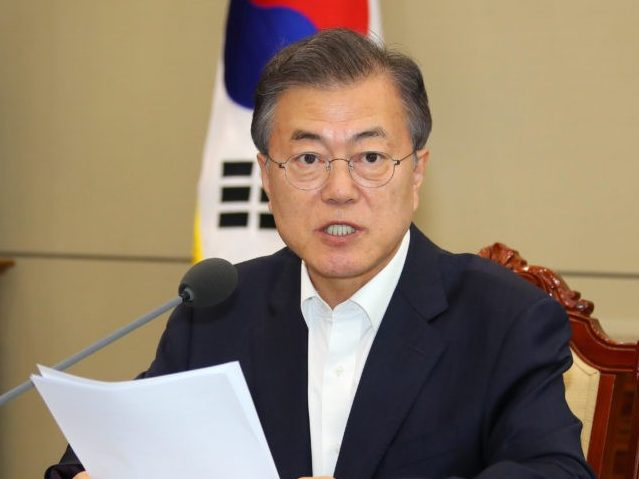 South Korean President Insists Negotiations with North Korea 'on Track'