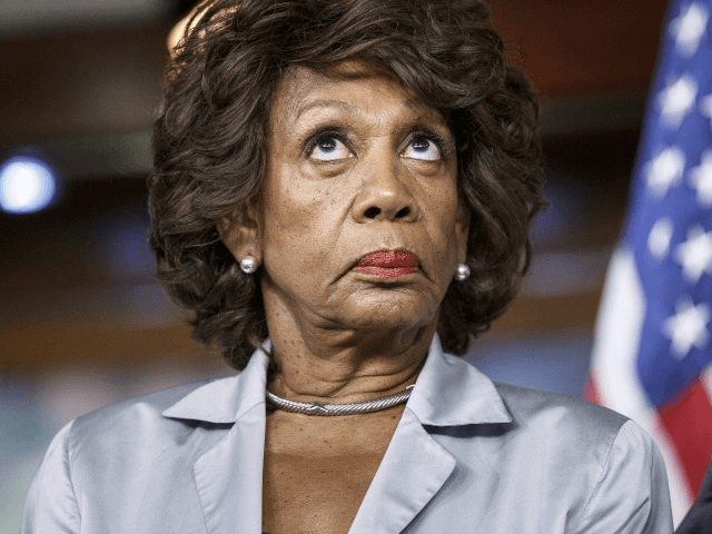 Trump Marks 'Corrupt,' 'Crazy Maxine Waters' the Face of Democrat Party