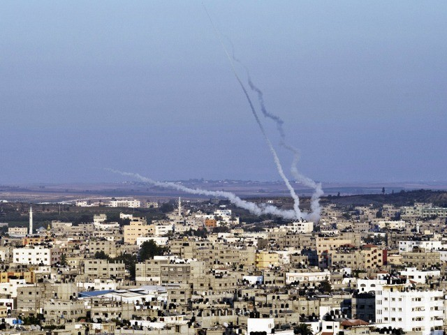 Gaza Terrorists Fire Over 100 Projectiles at Israel, IDF Pounds Jihad Targets In Response