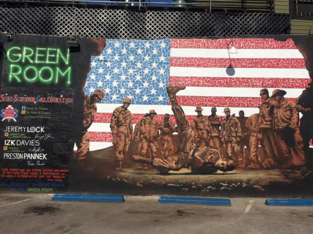 Texas Mural Honoring Veterans Painted Over Before Independence Day