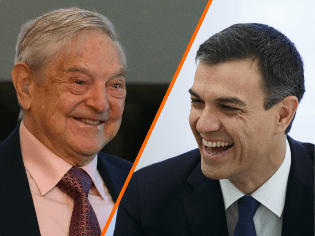 REPORT: Soros Held 'Secret Meeting' with Spain's Socialist, Pro-Mass Migration Leader