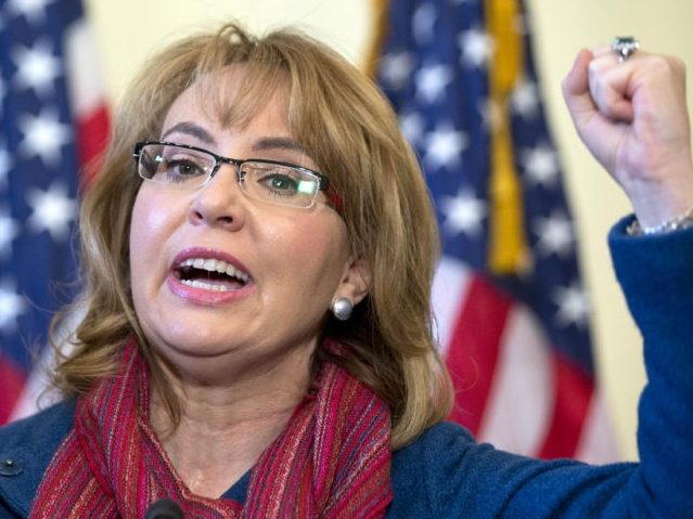 Gabby Giffords Trying to Help Gun Control Democrat Win Republican Congressional Seat